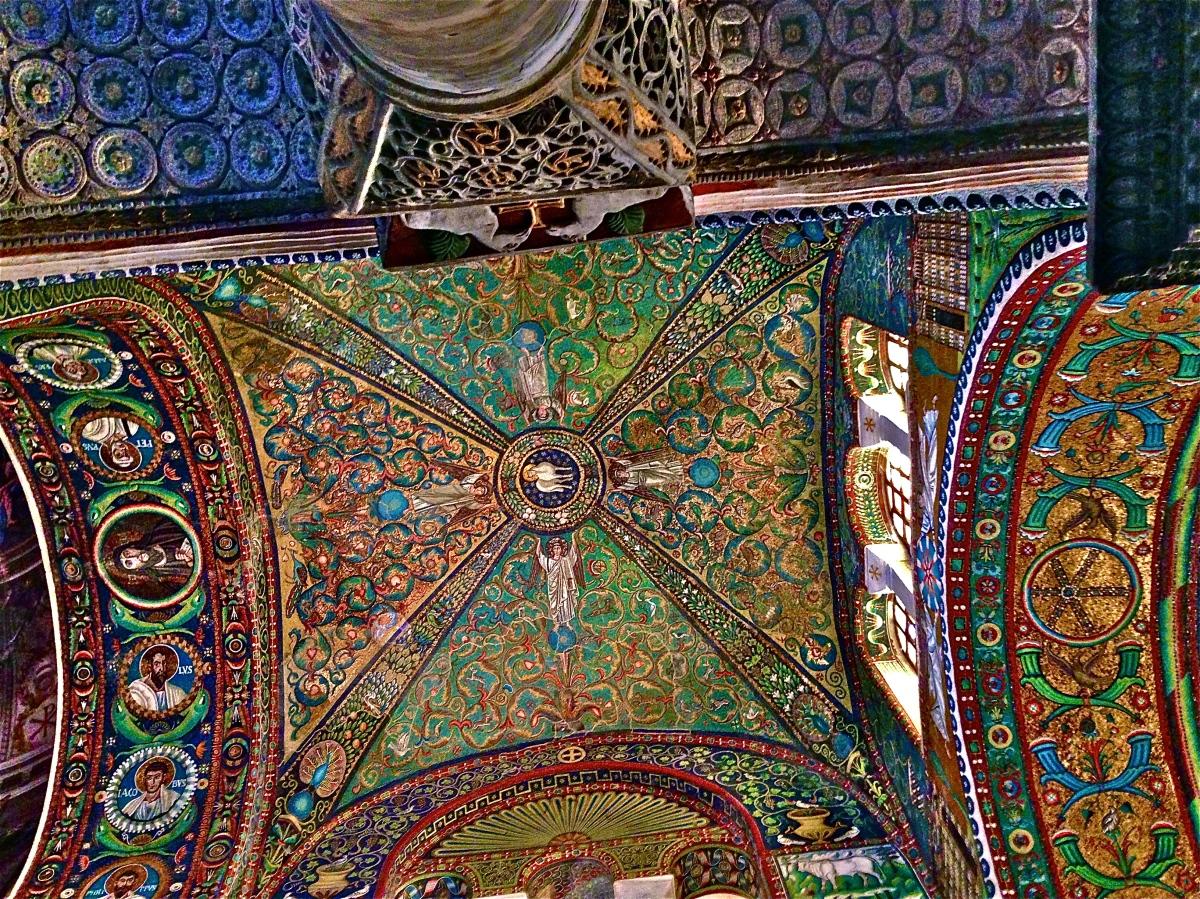 Mosaics of Ravenna,Italy
