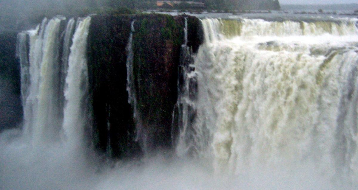 Iguassu Falls from Brazil andArgentina