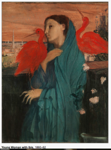 Young Woman with Ibis, Debas 1860-62
